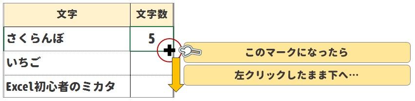LEN関数の使い方