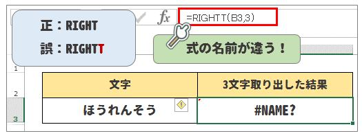 Excel関数rightで右端から文字を抽出する方法