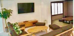 淡路島ヴィラオルティージャ宿泊詳細|旅館内リビングのイメージ