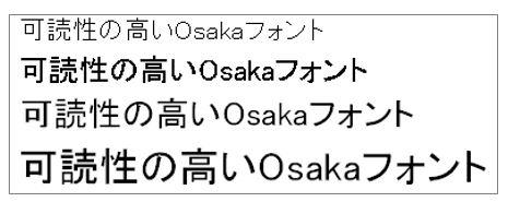 エクセル豆知識Osakaフォントを使えば印刷時のズレがなくなる
