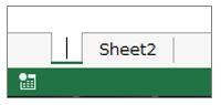 Excel豆知識シート名は空白では登録できない