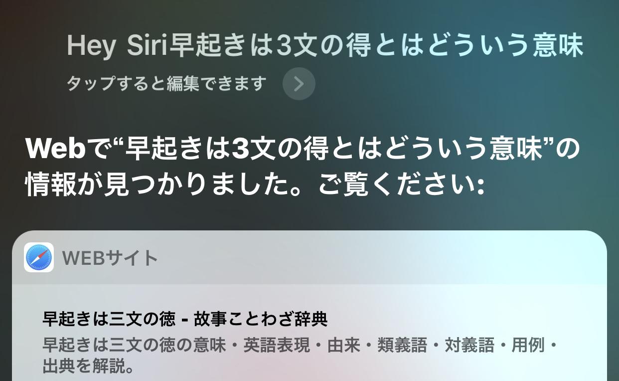 分からない言葉を調べる|【Siri活用方法30選】便利すぎ!オススメだけを集めた活用術|声だけでiPhoneやiPadの操作が可能!