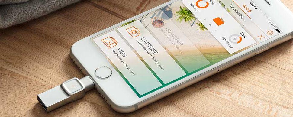 【オススメ】iPhone外付けメモリ(DataTraveler Bolt Duo)で容量不足を解決!|使ってみた感想と使い方
