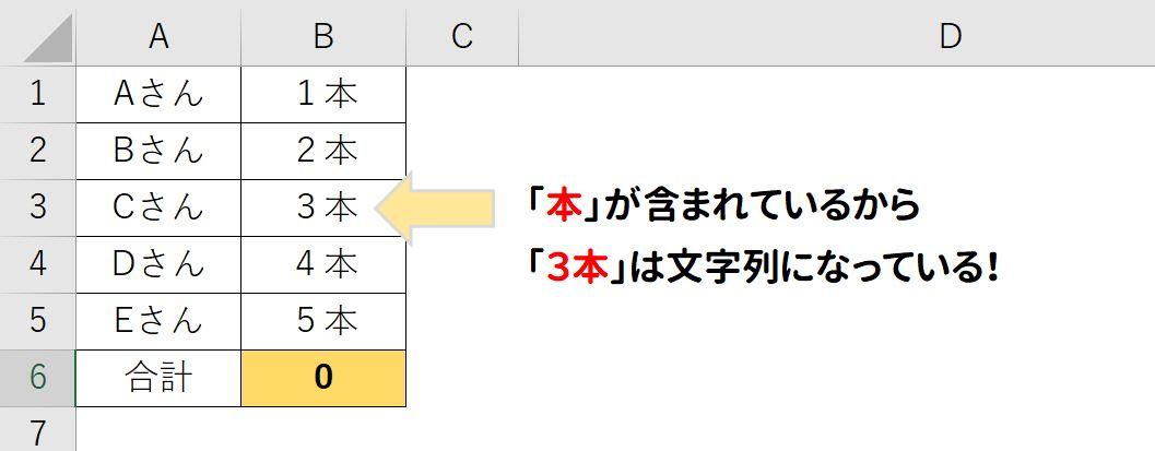 【3step】単位などの文字が入った数字を計算する方法|Excelでエラー「#VALUE!」が出ても万事解決!