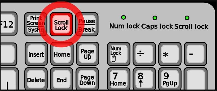 【Excel】矢印キーでセルが動かなくなったときの対処法