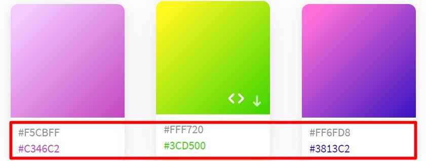 【紹介】美しいグラデーションが一覧で分かる便利なサイト|CSSやカラーコードがすぐに分かり、クリエイターに大活躍!